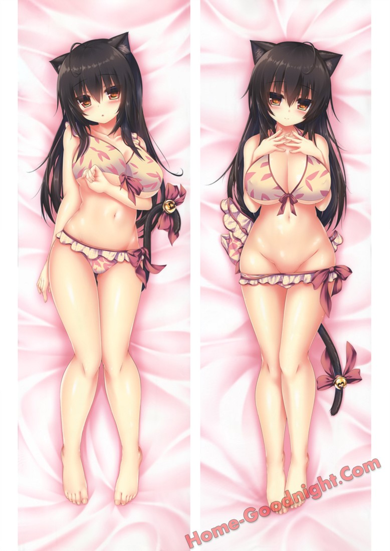 New Galgame Japanese character body dakimakura pillow cover