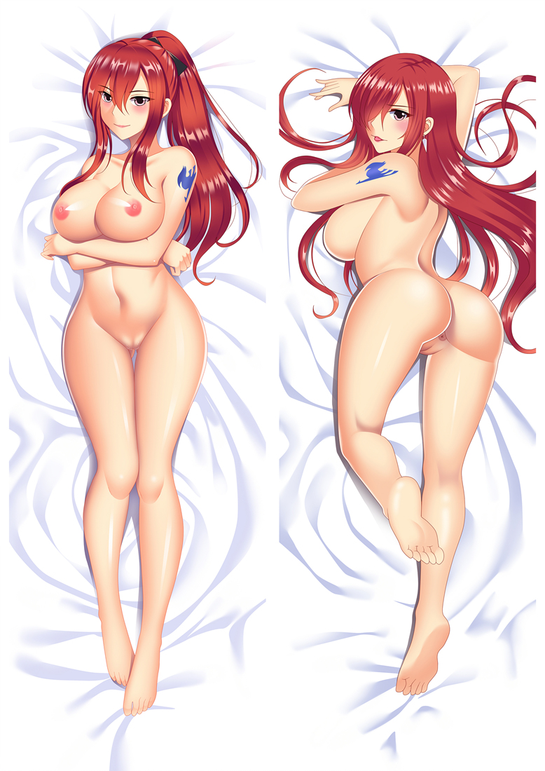 Erza Scarlet - Fairy Tail Dakimakura 3d pillow japanese anime pillowcase